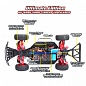 Remo Hobby Truck 9emu 4WD Brushless RTR Short Course (1:8)