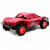 30°N DTT-7S Red Graffiti 4WD Short-Course (1:5)